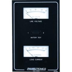 Paneltronics Standard DC Meter Panel w\/Voltmeter & Ammeter [9982202B]