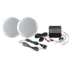 PolyPlanar MP3-Kit w\/ME-50, MA-4055 - (Pair) White, IC3.5 [MP3-KIT-A]