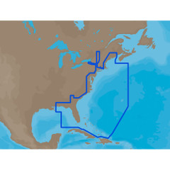 C-MAP MAX NA-M022 - U.S. East Coast & The Bahamas - SD Card [NA-M022SDCARD]