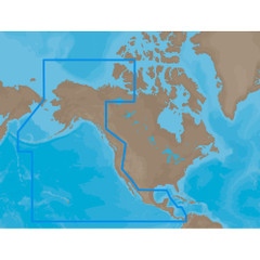 C-MAP MAX NA-M035 - Pacific Coast & Central - SD Card [NA-M035SDCARD]