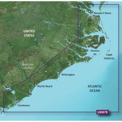 Garmin BlueChart g2 Vision HD - VUS007R - Norfolk - Charleston - microSD\/SD [010-C0708-00]