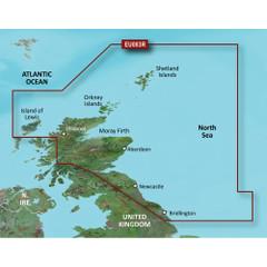 Garmin BlueChart g2 Vision HD - VEU003R - Great Britain, Northeast Coast - microSD\/SD [010-C0762-00]