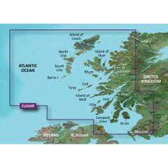 Garmin BlueChart g2 Vision HD - VEU006R - Scotland, West Coast - microSD\/SD [010-C0765-00]