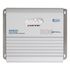 Boss Audio MR800 Marine Power Amplifier 2-Channel MOSFET Bridgeable [MR800]