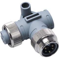 Maretron Mini 90 Deg. Male to Female Connector [ELB-NM-NF]