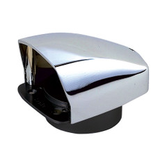 "Perko Cowl Ventilator - 3"" Chrome Plated Zinc Alloy [0870DP0CHR]"