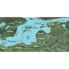 Garmin BlueChart g2 HD - HXEU505S - Baltic Sea East Coast - microSD\/SD [010-C0849-20]