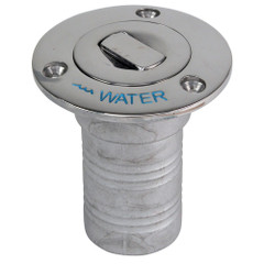 "Whitecap Bluewater Push Up Deck Fill - 1-1\/2"" Hose - Water [6995CBLUE]"