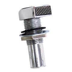 """Whitecap Fuel Vent - Rectangular Head, Straight, 9\/16"""" Hose [S-7031C]"""