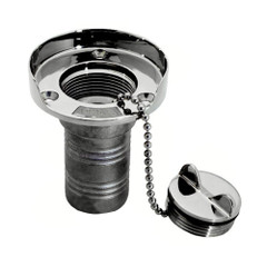"Whitecap Gas Hose Deck Fill w\/Splash Guard - 1-1\/2"" Chain [6001]"