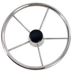 "Whitecap Destroyer Steering Wheel - 13-1\/2"" Diameter [S-9001B]"
