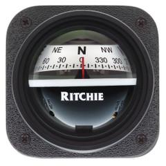 Ritchie V-537W Explorer Compass - Bulkhead Mount - White Dial [V-537W]