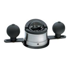 Ritchie B-200P Navigator Steel Boat Compass - Binnacle Mount - Stainless Steel\/Black [B-200P]