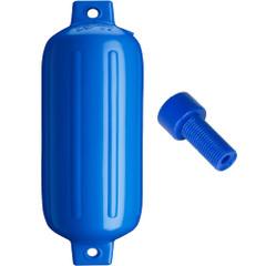"""Polyform G-5 Twin Eye Fender 8.8"""" x 26.8"""" - Blue w\/Air Adapter [G-5-BLUE]"""