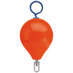"Polyform Mooring Buoy w\/Iron 13.5"" Diameter  - Red [CM-2-RED]"