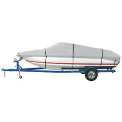 "Dallas Manufacturing Co. Heavy Duty Polyester Boat Cover C - 16'-18.5' Fish, SKI & Pro-Style Bass Boats- Beam Wth to 94"" [BC2101C]"