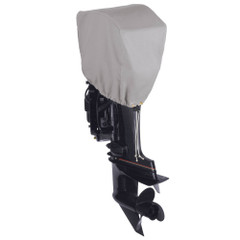 Dallas Manufacturing Co. Motor Hood Polyester Cover 2 - 15 hp - 25 hp 4 Strokes Or 2 Strokes Up To 50 hp [BC31022]