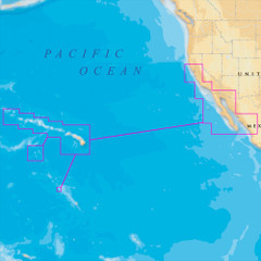 Navionics Platinum+ - Hawaii, California South to Baja - microSD\/SD [MSD\/644P+]