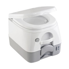 Dometic - SeaLand 974 Portable Toilet 2.6 Gallon - Grey w\/Brackets [301097406]