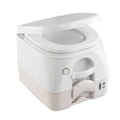 Dometic - SeaLand 974MSD Portable Toilet 2.6 Gallon - Tan w\/Brackets [301197402]