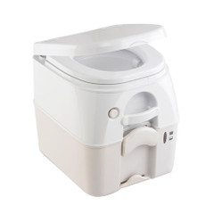 Dometic - SeaLand 975 Portable Toilet 5.0 Gallon - Tan w\/Brackets [301097502]