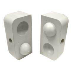 "Dock Edge Dockap Premium Foam Profile Large 2"" Cap - Putty [1152-F]"