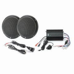 PolyPlanar MP3-KIT4-B MP3 Input\/MA4055B\/ME-60 Kit - Black [MP3-KIT4-B]