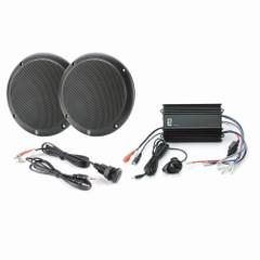 PolyPlanar MP3-KIT4-B MP3 Input\/MA4055B\/ME-60 Kit - Black [MP3-KIT4-B]