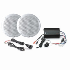 PolyPlanar MPS-KIT4-W MP3 Input\/MA4055W\/ME-60 - White [MP3-KIT4-W]