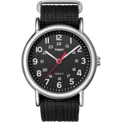 Timex Weekender Slip-Thru Watch - Black\/Black [T2N647]