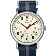 Timex Weekender Slip-Thru Watch - Navy\/Gray [T2N654]