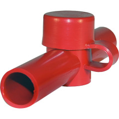 Blue Sea 4003 Cable Cap Dual Entry - Red [4003]