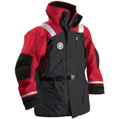 First Watch AC-1100 Flotation Coat - Red\/Black - Large [AC-1100-RB-L]