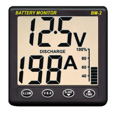 Clipper BM-2 Battery Monitor w\/Shunt - 200Amp [BM-2]