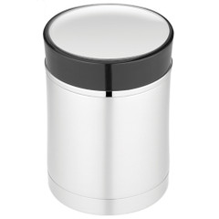 Thermos Sipp Vacuum Insulated Food Jar - 16 oz. - Stainless Steel\/Black [NS340BK004]