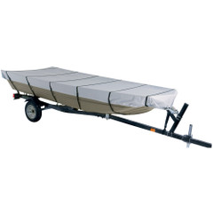 "Dallas Manufacturing Co. 300D Jon Boat Cover - Model C - Fits 16' w\/Beam Width to 75"" [BC21013C]"