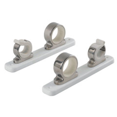 TACO 2-Rod Hanger w\/Poly Rack - Polished Stainless Steel [F16-2751-1]