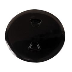 """Beckson 5"""" Twist-Out Deck Plate - Black [DP50-B]"""