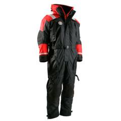First Watch Anti-Exposure Suit - Black\/Red - Medium [AS-1100-RB-M]