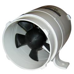 """Johnson Pump 4"""" In-Line Blower - 240CFM - 12V [66402]"""