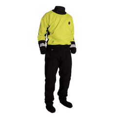 Mustang Water Rescue Dry Suit - LG - Yellow/Black [MSD576-L]