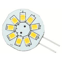 Lunasea G4 8 LED Side Pin Light Bulb - 12VAC or 10-30VDC\/1.2W\/123 Lumens - Warm White [LLB-216W-21-00]