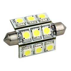 Lunasea 3-Sided 9 LED Festoon - 10-30VDC\/2W\/141 Lumens - Warm White [LLB-189W-21-00]