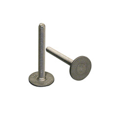 """Weld Mount 1.25"""" Tall Stainless Panel Stud w\/0.62"""" Base & #8 x 32 Thread - Qty. 15 [83220]"""