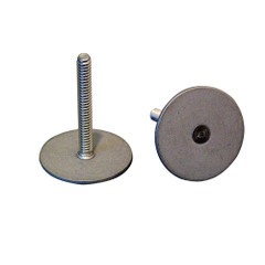 """Weld Mount 1.25"""" Tall Stainless Stud w\/#10 x 24 Threads - Qty. 10 [102420]"""