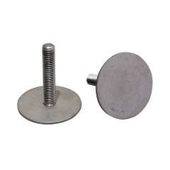 """Weld Mount 2"""" Tall Stainless Stud w\/3\/8"""" x 16 Threads - Qty. 5 [3816325]"""