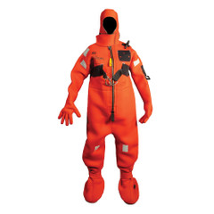 Mustang Neoprene Cold Water Immersion Suit w\/Harness - Adult Small [MIS220HR]