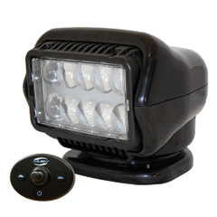 Golight LED Stryker Searchlight w\/Wired Dash Remote - Permanent Mount - Black [30214]