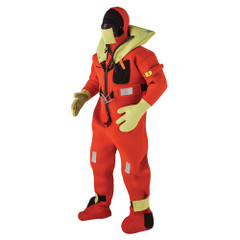 Kent Commercial Immersion Suit - USCG\/SOLAS Version - Orange - Small [154100-200-020-13]