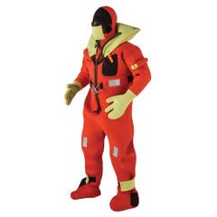 Kent Commercial Immersion Suit - USCG\/SOLAS Version - Orange - Small [154100-200-020-13]